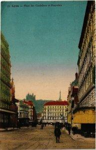 CPA LYON Place des Cordeliers et FOURVIERE (461400)