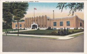 BATTLE CREEK, Michigan, 1900-1910's; Boy's Club Building