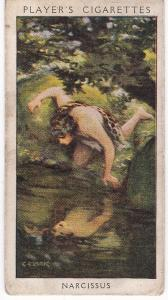 Cigarette Card Player's Dandies No 1 Narcissus