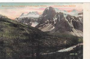 Moraine Lake From Summit Of Trail, Canadian Pacific Railway, Laggan, Alberta,...