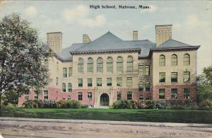 High School, Melrose, Massachusetts, PU-1912