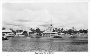 German East Africa Tanzania Dar-es-Salaam, Sea Front, Boats