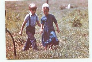 Buy Old West Virginia Postcards Amish Children Shanks Mare
