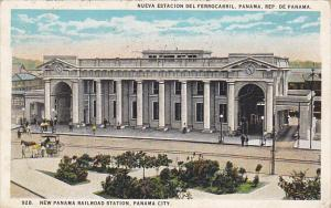 Panama New Railroad Station Panama City 1929