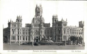 Spain Madrid Palacio de Comunicaciones RPPC 01.78