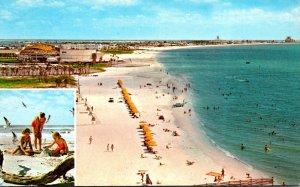 Florida St Petrsburg Beach Scene