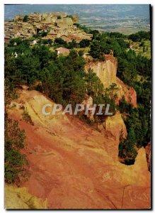 Postcard Modern Belles Images Roussillon Its cliffs of La Chaussee Giants