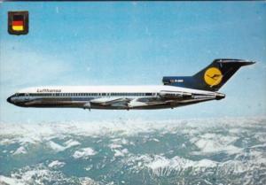 Lufthansa Boeing 727