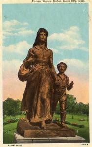 OK - Ponca City, Pioneer Woman Statue