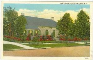 Civic Club, Southern Pines, North Carolina, 1900-1910s