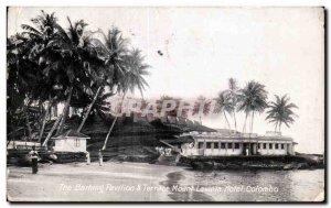 Postcard The Old Mount Lavinla Barhing Pavilon Terrace Hotel Colombo Sri Lank...