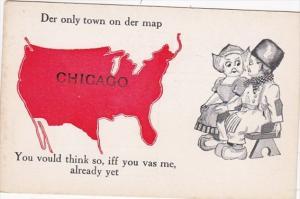 Illinois Chicago Dutch Kids Pennant Series