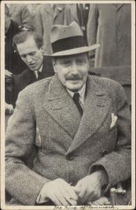 King of Denmark 1945 Used Postcard