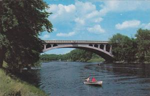 Hunter Street Bridge over the Otonabee River,  Peterborough,  Ontario,  Canad...