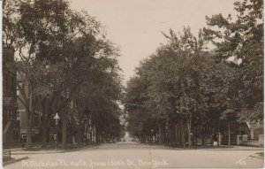 THADDEUS WILKERSON REAL PHOTO PC, ST. NICHOLAS AVE LOOKING NORTH AT 150TH ST NYC
