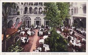 Spanish Patio Glenwood Mission Inn Riverside California