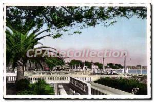 Old Postcard Juan Les Pins The Terraces Du Grand Pin