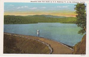 OZARKS , Arkansas, 1910-30s ; Lake Fort Smith & dam
