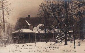 RP: PEORIA , Illinois , 1909 ; Reflectory , Glen Oak Park