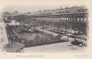 PARIS, France,1910-1920s, Le Jardin du Palais Royal