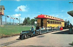 Green Bay WI Miniature Railroad 20th Century Limited Postcard