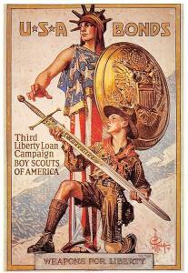 Mayfair Cards North American Odyssey, Boy Scouts of America USA Liberty Weapons
