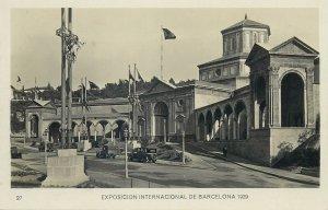 Postcard exhibitions Exposicion internacional Barcelona 1929 Graphic art palace