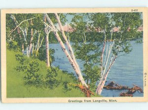 Linen NATURE Longville - Near Nevis & Walker & Nisswa & Grand Rapids MN AD6666