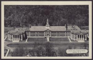 Bird's Eye View,Central School,Goshen,NY Postcard