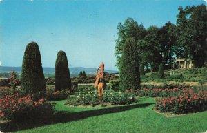 Postcard Garden Hershey Pennsylvania
