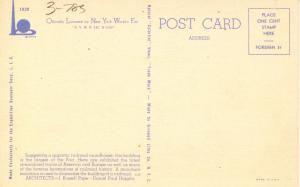 NY - New York World's Fair, 1939. Railroad Exhibit Building