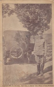 Anniston, Alabama , 1918 ; Commanding Officer of Camp McClellan