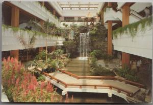 White Swan Hotel, Atrium Lobby, SHAMIAN ISLAND, GUANGZHOU, CHINA, Postcard