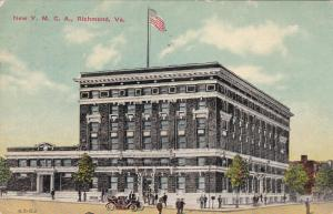 New Y. M. C. A., RICHMOND, Virginia, PU-1911
