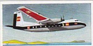 Lyons Trade Card Wings Across The World No 6 Handley Page Herald U K