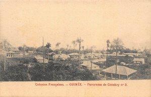 Guinea Conakry panorama postcard