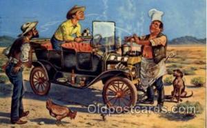 Artist Reedstrom, Western Cowboy Cowgirl Postcard Postcards  Artist Reedstrom
