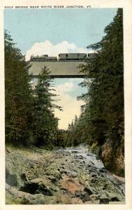 VT - White River Junction. Gulf Bridge