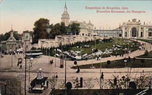 Exposition de Bruxelles 1910 Bruxelles Kewrmesse les Remparts