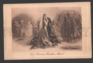 115935 Two Dreams WEDDING by BALFOUR-KER Vintage PC