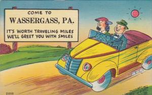 Pennsylvania Come To Wassergass Couple In Car