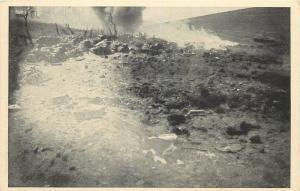 WW1 First World War atrocities burning enemy fire battlefield