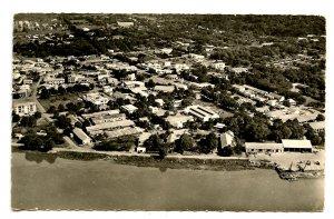 Central African Republic - Bangui. Aerial View.    *RPPC