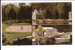 Pinelands Lodge, Lake Joseph, Port Carling, Ontario, Playing Tennis, Fishing,...