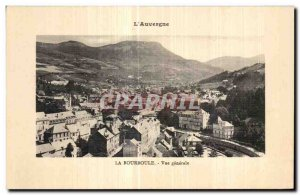 Old Postcard The Bourbule Vue Generale