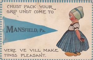 Pennsylvania Mansfield 1913 Pennant Series