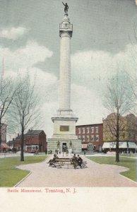 TRENTON, New Jersey, PU-1906; Battle Monument