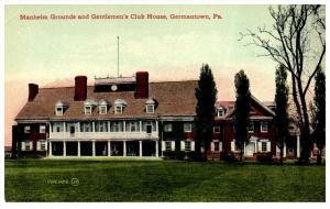 16423  PA Germantown  Gentlemen's Club House
