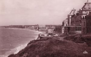 Wimereux Casino Real Photo Vintage Aerial Seafront Postcard