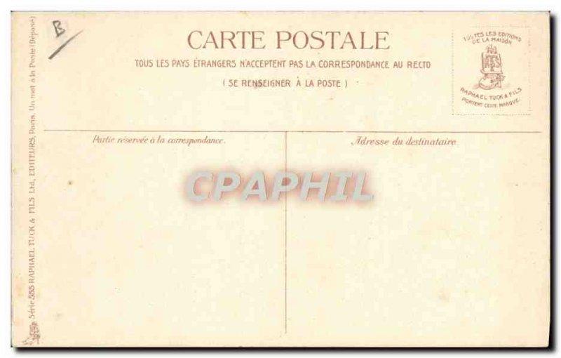 Old Postcard Boat Marine d & # soft 39eau V Bradshaw